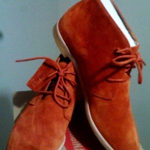 New Clarks Original Desert Suede Lace Up Boot 7.5M
